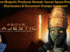 Above Majestic Producer Reveals Secret Space Program Disclosures & Document Dumps Imminent
