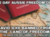 Statement on David Icke being Banned from entering Australia