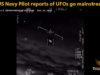 US Navy Pilot reports of UFOs go mainstream