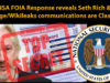 NSA FOIA Response reveals Seth Rich & Assange/Wikileaks communications are Classified